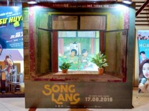 Song Langの顔出しパネル