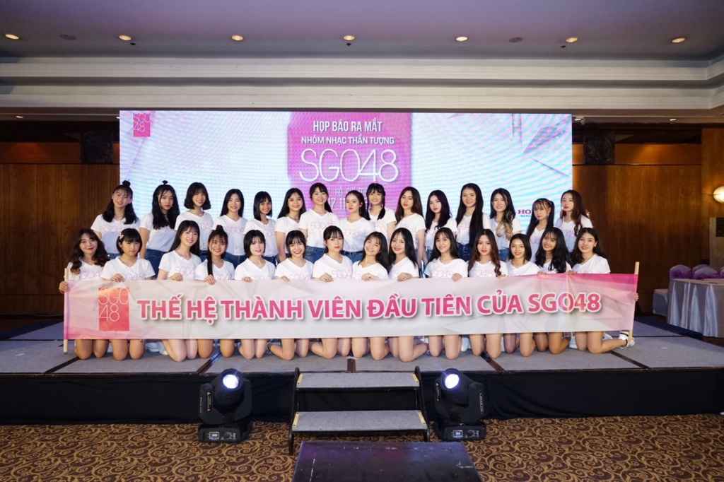 SGO48 member (C) YAG Entertainment