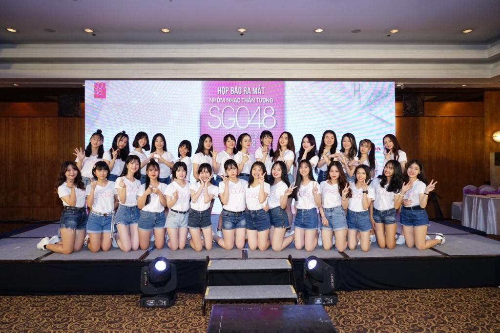 SGO48メンバー一期生