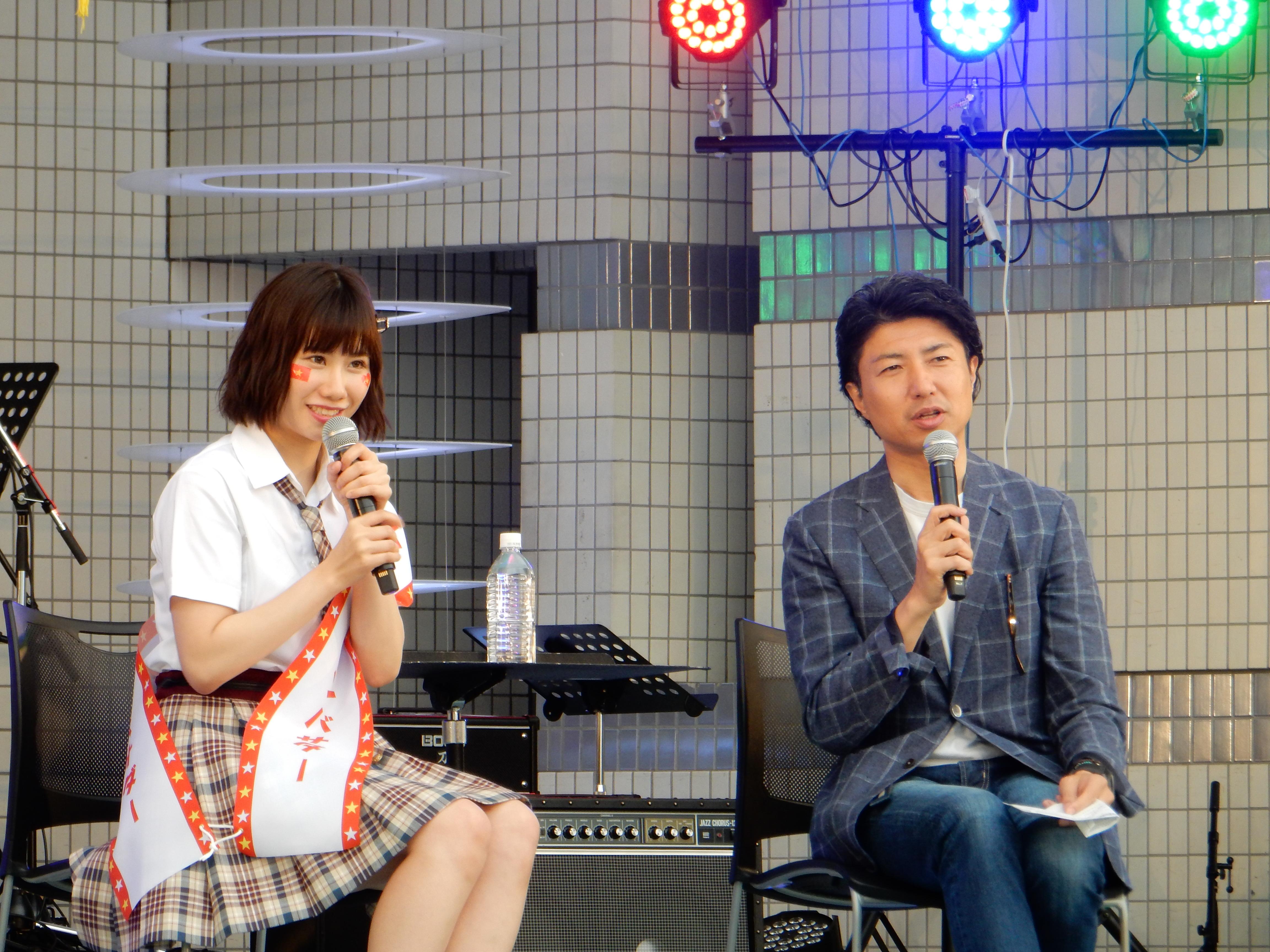 NMB48 石田優美×ベトフェス事務総長 青柳陽一郎 SPECIAL TALK1