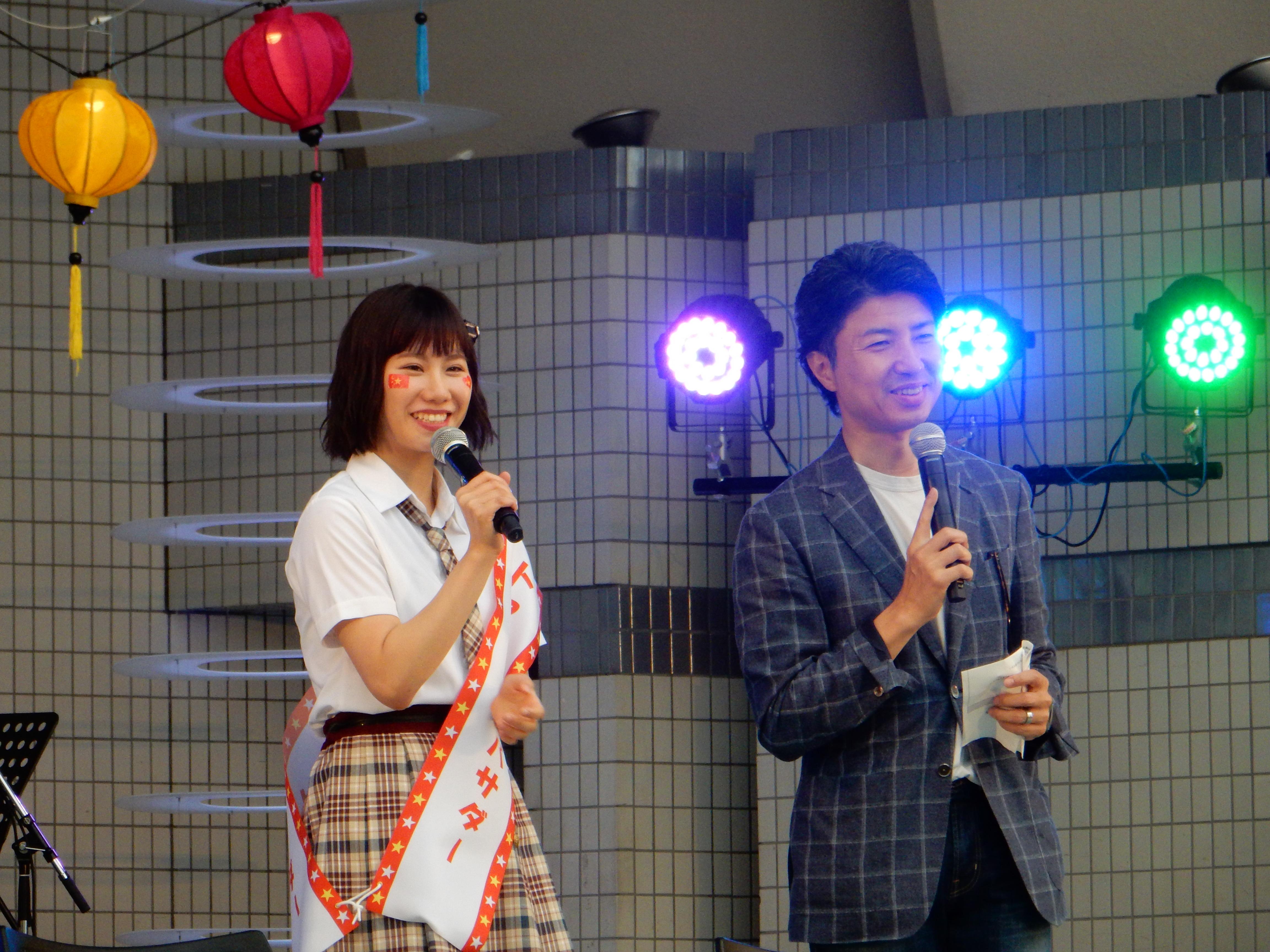 NMB48 石田優美×ベトフェス事務総長 青柳陽一郎 SPECIAL TALK2