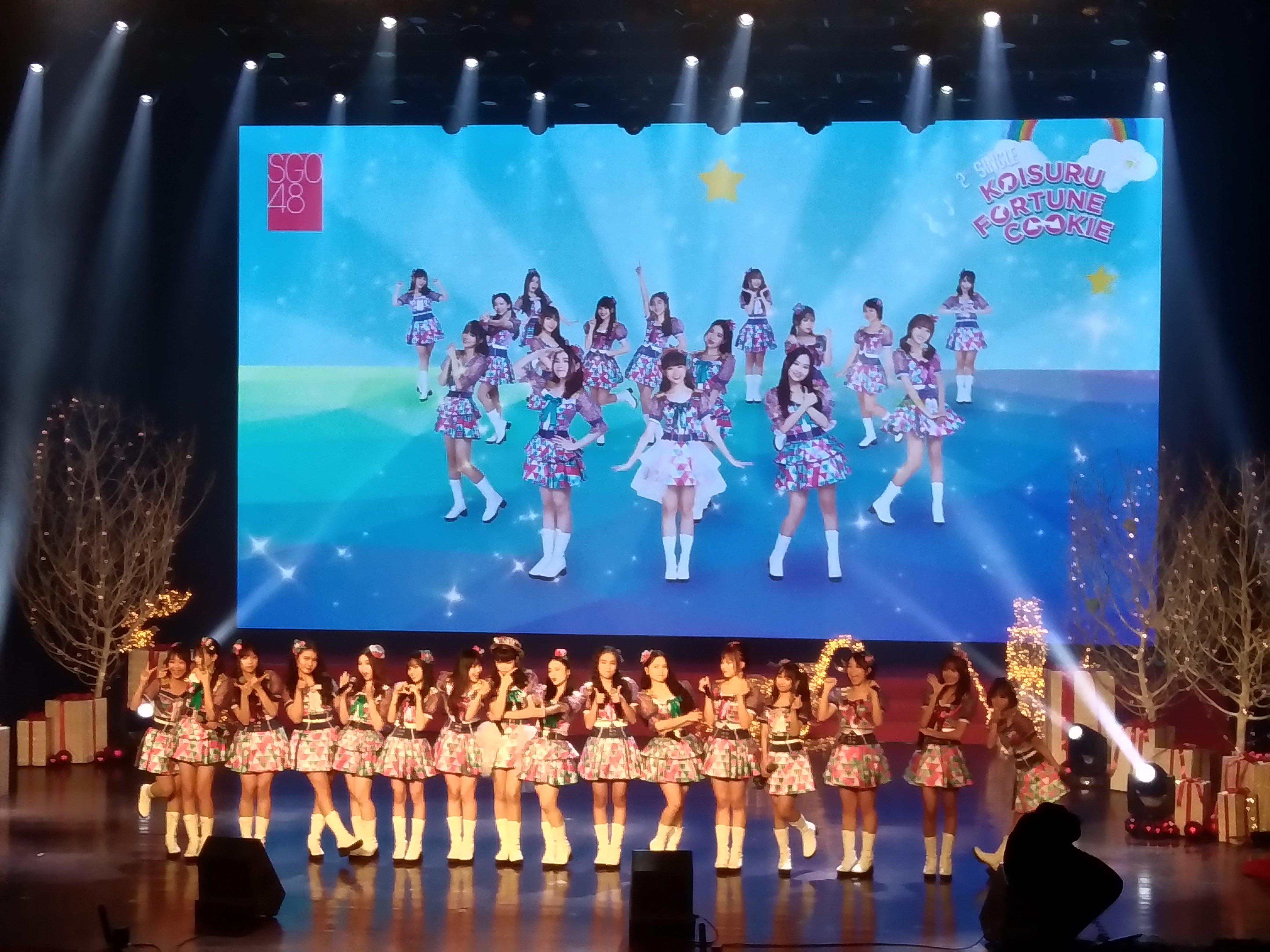 SGO48 2ndシングル選抜発表
